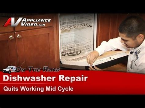 Kitchenaid Dishwasher Not Completing Cycle Diy How To Change A Dishwasher Timer And Not Fix It Doovi