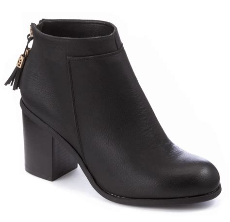 comfortable black ankle boots womens black ankle boots comfortable block heels chelsea