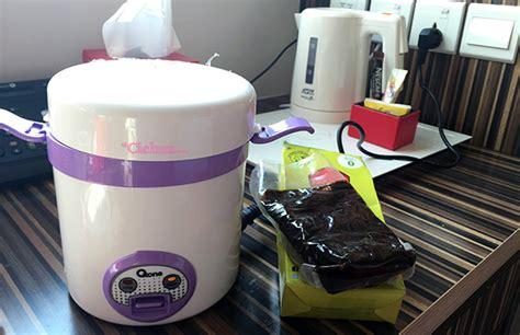 Rice Cooker Ukuran Besar tips ngirit saat traveling itu penting cicha s