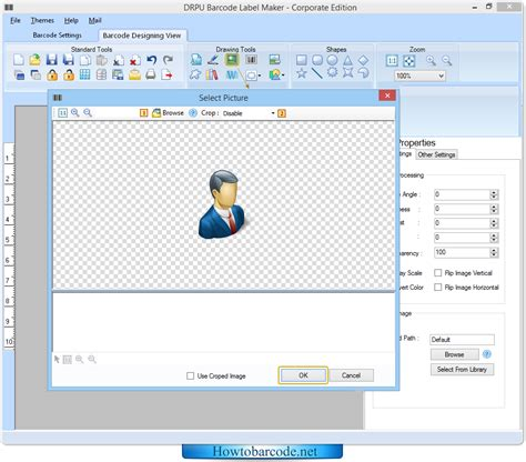 drawing tools software desen scule howtobarcode