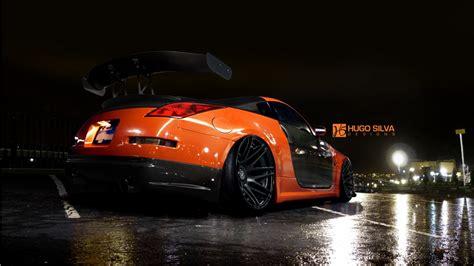 Orange Nissan 350z Wallpaper Hd Car Wallpapers