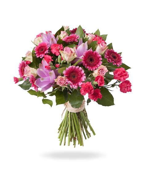 bosje bloemen plaatjes roze gemengd boeket bloemen bezorgen bergen op zoom