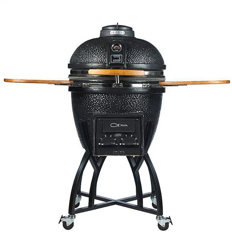 vision kamado pro ceramic charcoal grill review