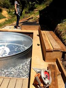 Stock Tank Pool by Gallery For Gt Galvanized Water Trough Pool