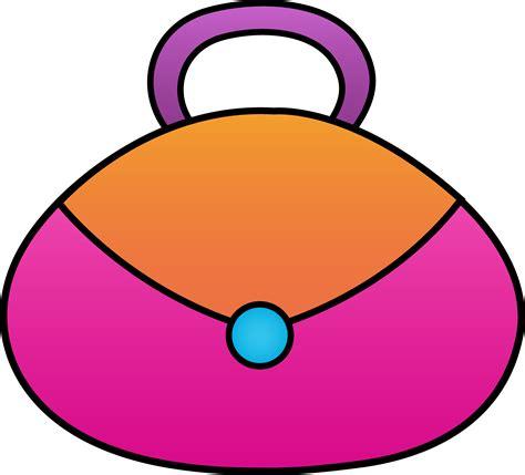 pink clip art purse clipart jaxstorm realverse us