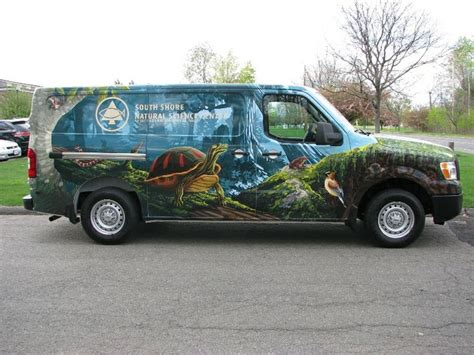 Monster Energy Wall Stickers south shore natural science center vehicle wrap by gographix