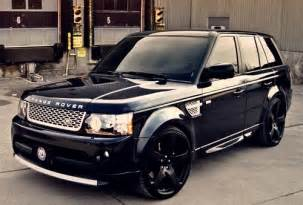 all black range rover pinpoint