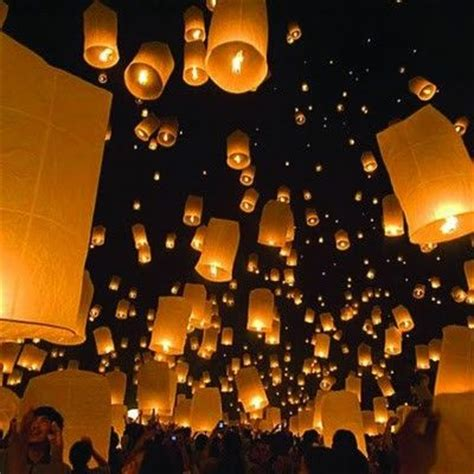 Paper Lanterns That Fly - how to make flying paper lanterns