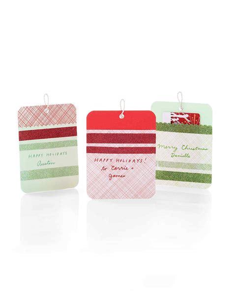 sparkling gift tags martha stewart