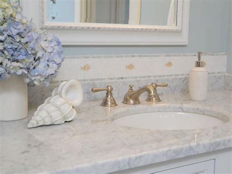 marble vs granite bathroom marble bathroom countertops hgtv
