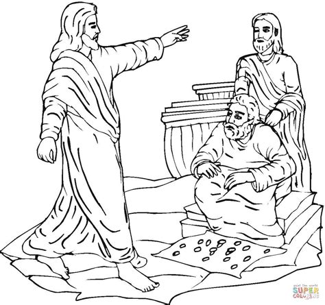 coloring page jesus cleansing temple jesus clears the temple coloring page free printable