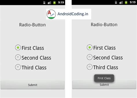 android tutorial onclick android tutorial on spinner