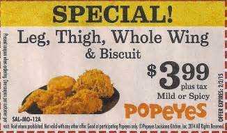 popeyes coupons printable 2017 2018 best cars reviews