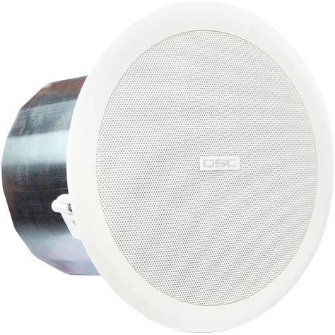 qsc ac c6t 6 inch two way ceiling speaker 70 100v