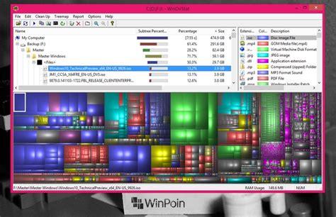 virus membuat hardisk penuh windirstat cara mengetahui mengapa hard disk penuh