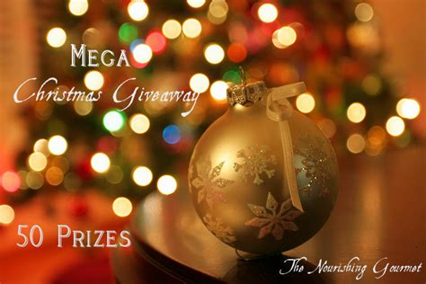 Free Christmas Giveaways 2012 - mega christmas giveaway 50 prizes