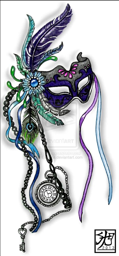 mardi gras mask tattoo designs on mardi gras masks lotus and