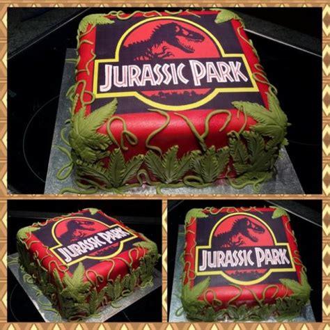 Jurassic Park Cake Decorations jurassic park cake by carla15 cakesdecor