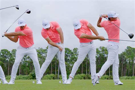golf swing sequence swing sequence koepka australian golf digest