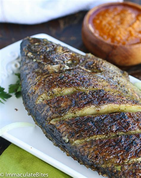Camarons Grillés by Caribbean Grilled Whole Snapper