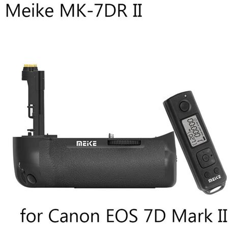 Battery Grip Meike Mk 7d For Canon 7d mk 7dr ii 2 4g wireless meike battery grip for canon 7d ii as bg e1 ebay