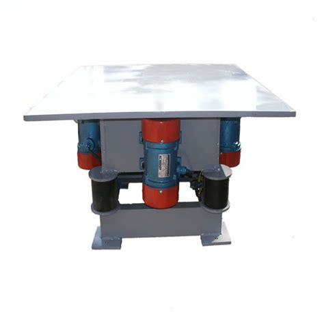 q235a concrete vibration table with 380v vibrating motor