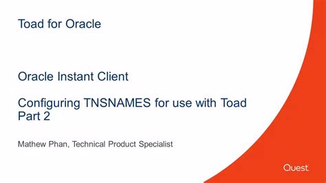 toad tutorial for oracle toad for oracle video and tutorials