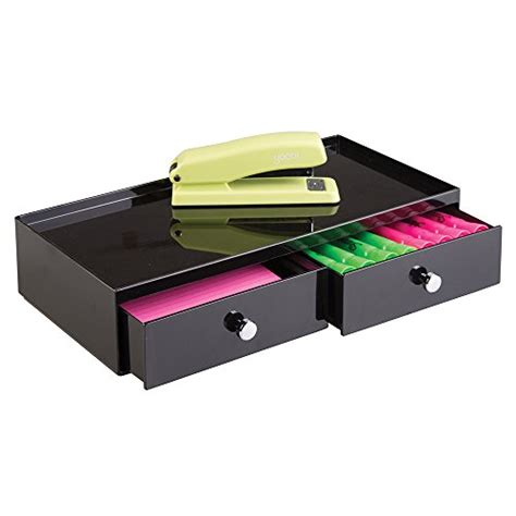 office supplies desk drawer organizer mdesign office supplies desk drawer organizer for staplers