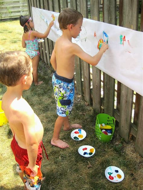 backyard water birthday party 1000 ideas about backyard birthday parties on pinterest