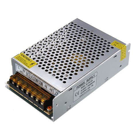 Power Supply For Led Light Strips Ac110v 220v To Dc24v 3a 72w Switch Power Supply Led Driver Adapter For Light Alex Nld