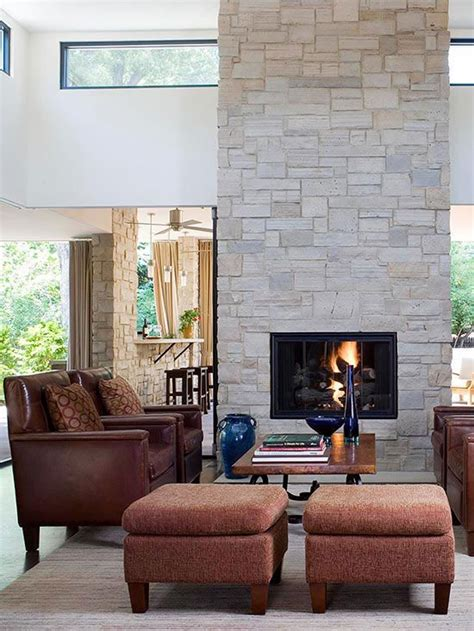 1000 ideas about two sided fireplace on