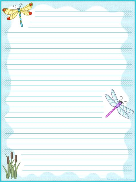 free printable artistic stationery paper borders on pinterest free printable stationery