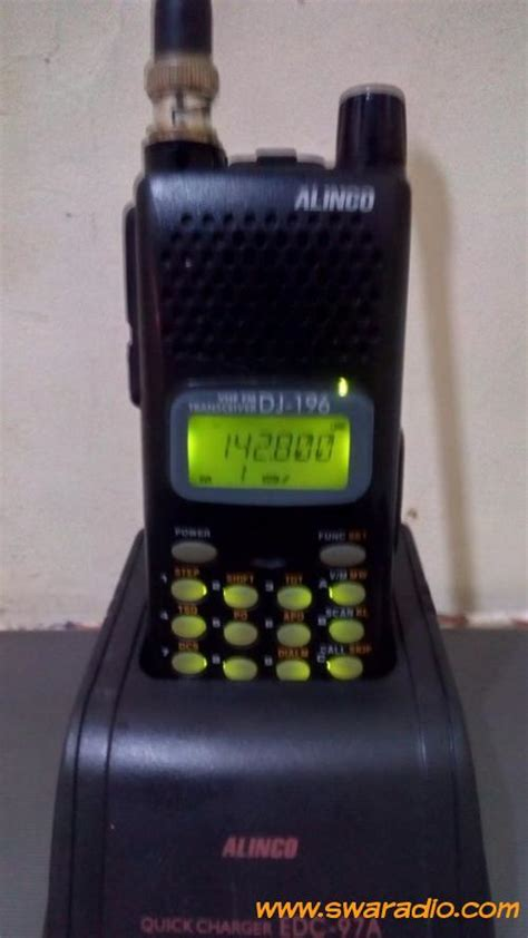 Baterai Alinco Dj 195196495596 dijual alinco dj196t baterai lumayan antena helical swaradio