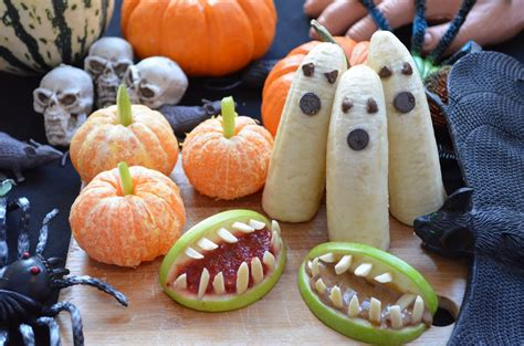 easy and healthy diy halloween treats by fablunch