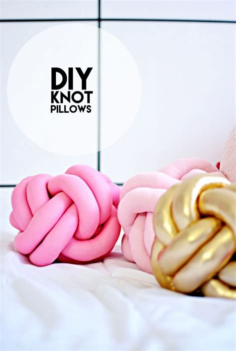 diy knot pillow diy knot pillows tutorial 187 little inspiration