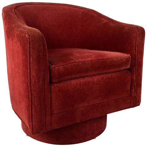 Milo Baughman Swivel Chair by Barrel Swivel Chair By Milo Baughman For Sale At 1stdibs