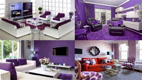 inspirasi  cat tembok warna ungu muda