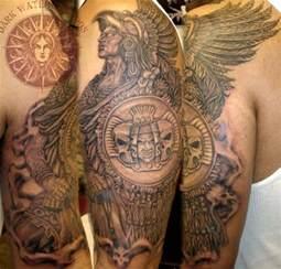Aztec Jaguar Symbol Aztec Warrior Tattoos Allcooltattoos