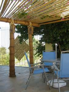 Bamboo Patio Roof by 17 Best Images About Pergolas On Pinterest Backyard