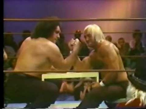 hulk hogan bench press hulk hogan vs andre the giant arm wrestling classic