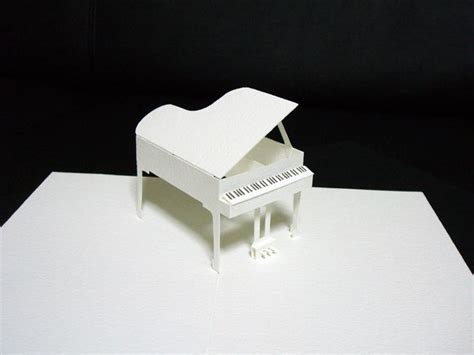 piano pop up card template pdf 44 best images about pop up on patrones