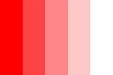 pink color scheme red pink white color palette