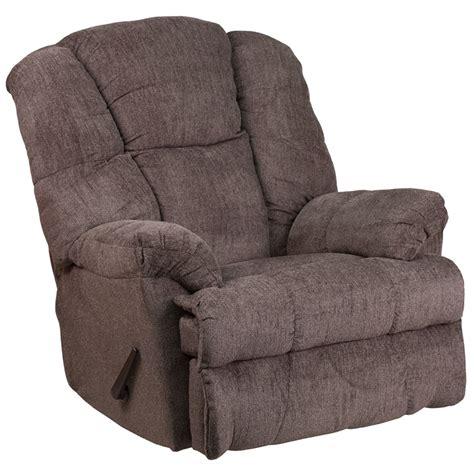 chenille rocker recliner contemporary hillel pewter chenille rocker recliner wm
