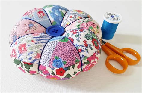 Patchwork Pincushion Free Patterns - diy pincushion tutorial with free pattern mad for fabric