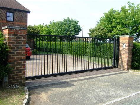 Contemporary Home Design Plans electronic contemporary driveway gates team galatea
