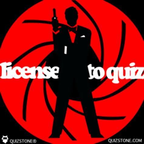quiz questions james bond james bond quiz license to quiz