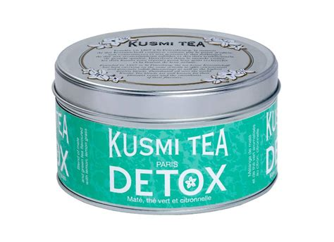 Detox Health Innovations by Clever Storage Detox With Kusmi Tea