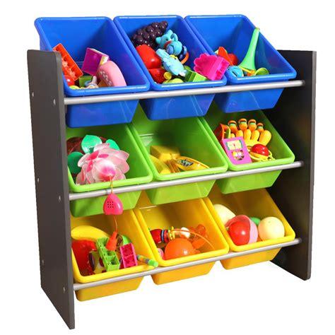 toy organizer basicwise 3 tier kid s toy storage organizer with 9