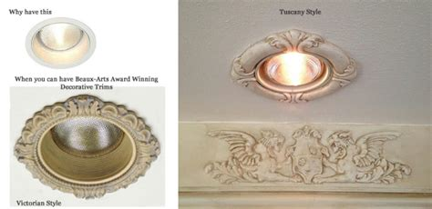 decorative recessed light covers fixtures decorative the most decorative can light trim wanker for pertaining