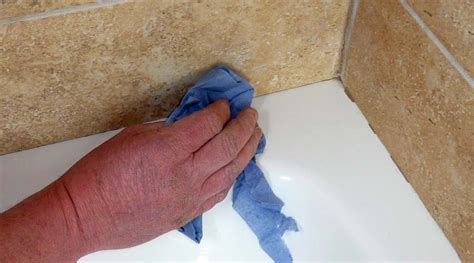 how to remove bathroom sealant from tiles tips and advice on how to seal a shower tray